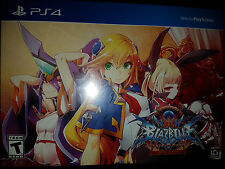 PS4 BlazBlue: Central Fiction Limited Edition  BRAND NEW SEALED Playstation 4