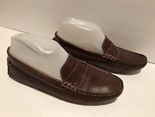 Cole Haan Driving Moccasin Loafers Flat Leather Brown 7 B