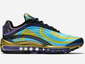 Nike Air Max Deluxe Femmes Baskets Minuit Marine UK 4.5 Ue 38 US 7 CMS 24