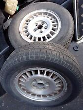 Volvo 242 GT Alloy Wheels, 244 or trailer 14 inch Alloys (individual)