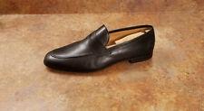 New! Magnanni 'Tacio' Apron Toe Penny Loafers Black Leather Mens 13 M MSRP $395