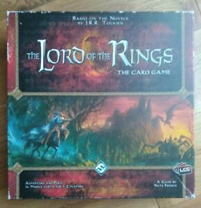 The Lord of the Rings LCG card game core set + extras