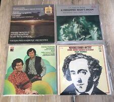 4x Classical Mendelssohn Vinyl - EMI, Decca, Heliodor Violin Octet Midsummer