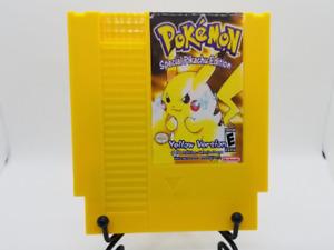 Pokemon Yellow NES Cartridge - Full English Translation