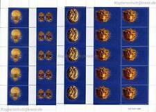 VATIKAN VATICANO - 2001 GOLDEXPONATE ETRUSK. MUSEUM 1386-89 KLEINBOGEN POSTPREIS