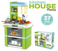 Electronic Kitchen Cooking Toy Toddler Children Kids Cooker Role Play Set Kit UK