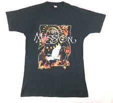 Rare Vintage 1990 The Mission T Shirt English Gothic Rock Band Retro 90S Retro