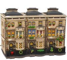 MULBERRIE COURT # 58345 RETIRED DICKENS VILLAGE DEPT 56 looks like Brownstones
