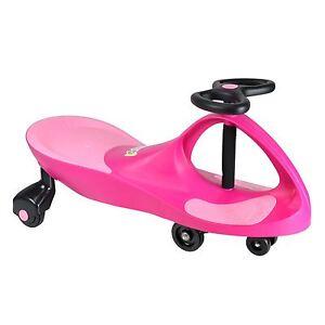 Boppi Wiggle Auto Swing Ride Su Scooter Spingere Gyro Twist & Go Ruota Bimbi Toy