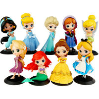 Cartoon Princess Cute Figure Collection Girls Children Birthday Gift Toy In Box