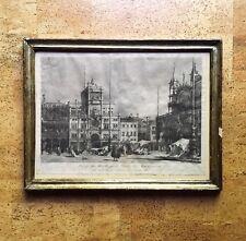 Antonio Sandi Engraving after Francesco Guardi, St Mark's Venice 18th C. Italy
