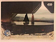 2017 Topps Star Wars Rogue One Series 2 #37 The Dreaded Darth Vader NrMint-Mint
