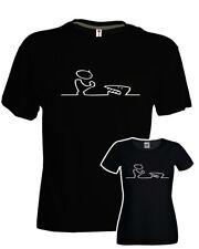 T-shirt gigi d'agostino bla bla bla anni 90 omino ottimo cotone nera uomo donna