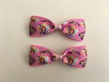 Sofia the First Hair Bows with Alligator Clips