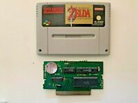 Super nintendo SNES Zelda ** A link to the past tested PAL