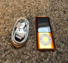 Apple iPod Nano 5th Generation Orange Camera 16GB (Needs New Battery)