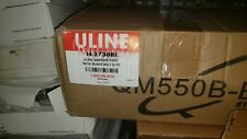 ULINE BARRIER POST WITH RETRACTABLE BELT H3736BL
