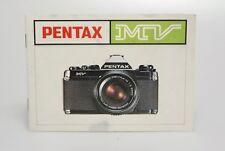 Pentax MV Bedienungsanleitung