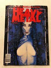 HEAVY METAL MAGAZINE MARCH 1990