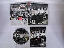 Jeu PS3 Playstation 3 - Complet - RaceDriver Grid