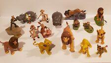 Lion King / Guard 16pc Action Figure Lot ~ Mattel Vintage McDonalds Burger King