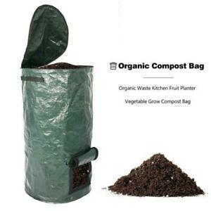 Organic Waste Kitchen Garden Yard Disposable Compost Bag Environmental PE Cloth