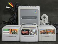 Nintendo Super Famicom Console + 15 games (Donkey Kong, Final Fight) set