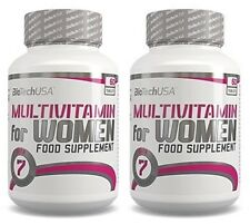 Biotech USA Multivitamin for Women 120tabs. (60tabs. + 60tabs.) Women's Complex