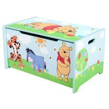 Winnie Pooh Holz Spielzeugkiste Spielzeug Truhe Aufbewahrungsbox Spieltruhe