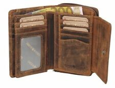Greenburry Leather Trifold Wallets for Men