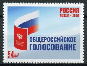 Russia Stamps 2020 MNH Russian Constitutional Referendum Constitution 1v Set