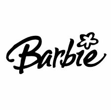 "Barbie  Vinyl Decal ""Sticker"" For Car or Truck Windows, Laptops, etc"