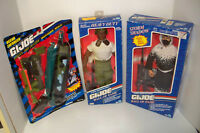 """Lot of  G.I. JOE 12"""" Vintage Action Figures + accessories  African American"""