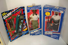 "Lot of  G.I. JOE 12"" Vintage Action Figures + accessories  African American"