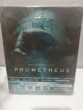 Prometheus Blu-Ray + DVD JB HiFi Exclusive Limited Steelbook + VIVA MetalBox New