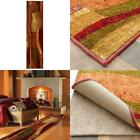 Abstract Runner Rug Machine Washable Area Flooring Mat Home Room Use 2 Ftx8 Ft