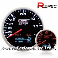 Prosport 60mm 4 In 1 Multi Display Gauge Boost, Oil Pressure, Oil Temp, Voltage