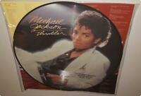 MICHAEL JACKSON THRILLER (2008) BRAND NEW DOUBLE SIDED PICTURE DISC VINYL LP