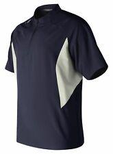 New Balance Ace Baseball Jacket  Short Sleeve Shirt Team Navy L