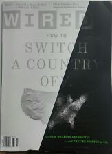 Wired July 2017 How To Switch A Country Off New Digital Weapons FREE SHIPPING sb
