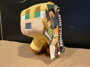 "Minecraft OVERWORLD BABY OCELOT 6"" Plush STUFFED ANIMAL Toy NEW"
