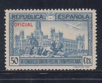 ESPAÑA (1931) NUEVO SIN FIJASELLOS MNH - EDIFIL 633 (50 cts) UNION POSTAL LOTE 1