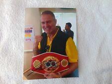 Glenn McCrory Signed Photo Autograph Boxing Memorabilia