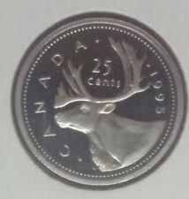 Canada 1995 Proof quarter 25 cents