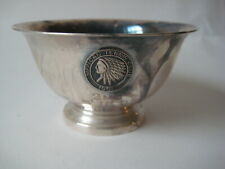 1966 Sippican Tennis Club silver TROPHY bowl Reed & Barton Paul Revere Marion MA
