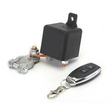 Car Battery Isolator Disconnect Cut Off Power Kill Switch w/1pcs Remote Control