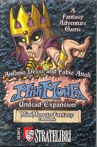 Mini Monster Fantasy Card Game Undead Expansion Pack MINT Stratelibri