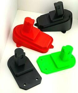 Ryobi Tool Mount Lithium-Ion Holder 18V 3D Printed Many Colors