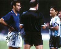 Foto Autografo Calcio Giuseppe Bergomi Asta di Beneficenza Sport Soccer Coa