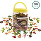 90 Pack Dinosaurs Plastic Animals Action Figures Kids Toys T Rex Dino Model Toys